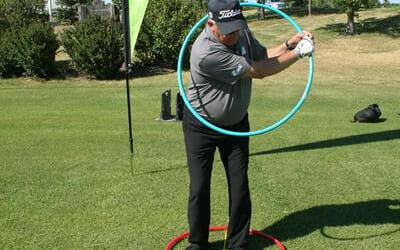 2 CIRCLES TO A GOLF SWING