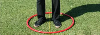 Eliminate excess movement in your golf swing